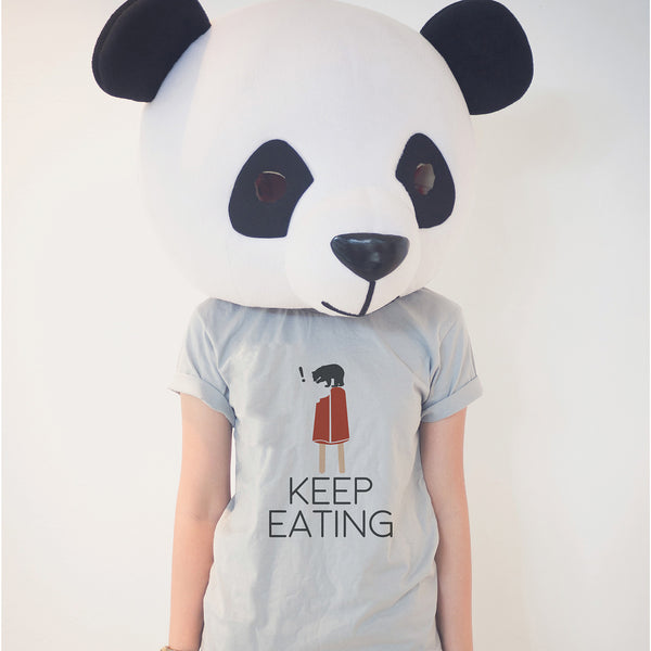 KEEP EATING, CHANGEABLE COLOR T-SHIRT