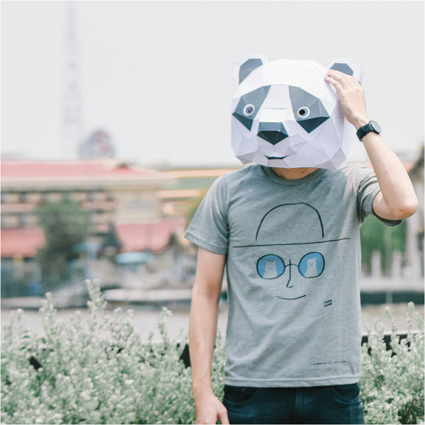 STAY COOL, Changeable color t-shirt (GREY)