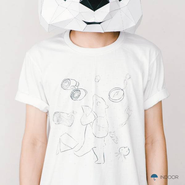 GO WILD, Changeable color t-shirt by JIRANARONG