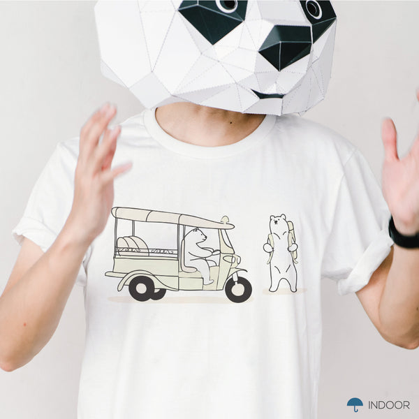 TUK TUK, WAIT FOR ME!, Changeable color t-shirt