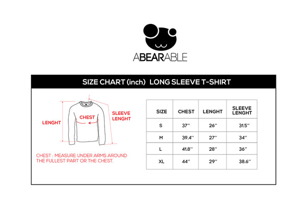 MERRY POLAR, Changeable color long-sleeve t-shirt