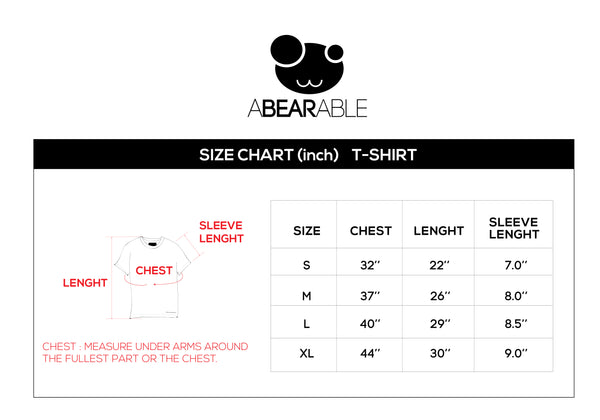 BA BA BEAR, Changeable color t-shirt (GREY)