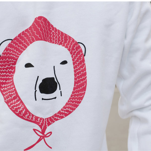 BEAR MERRY, Changeable color sweatshirt
