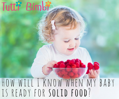 How will I know when my baby is ready for solid food?