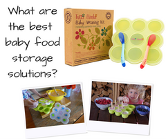 Best baby food storage solution