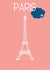 Affiche PARIS, Tour Eiffel