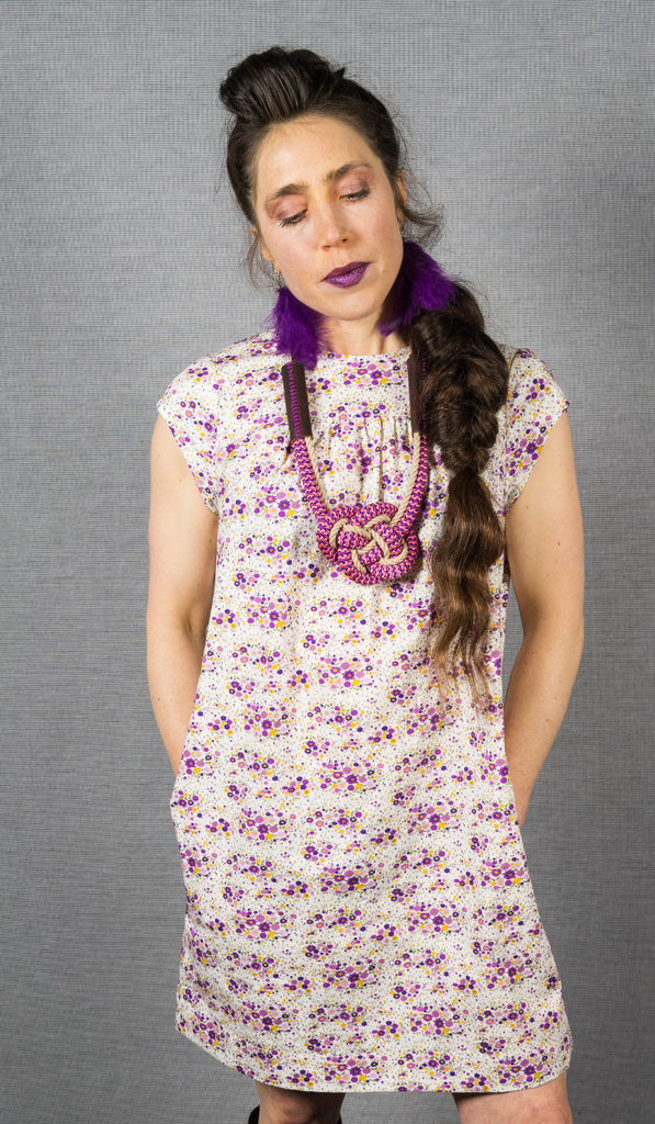 Rizzo Dress in Lilac
