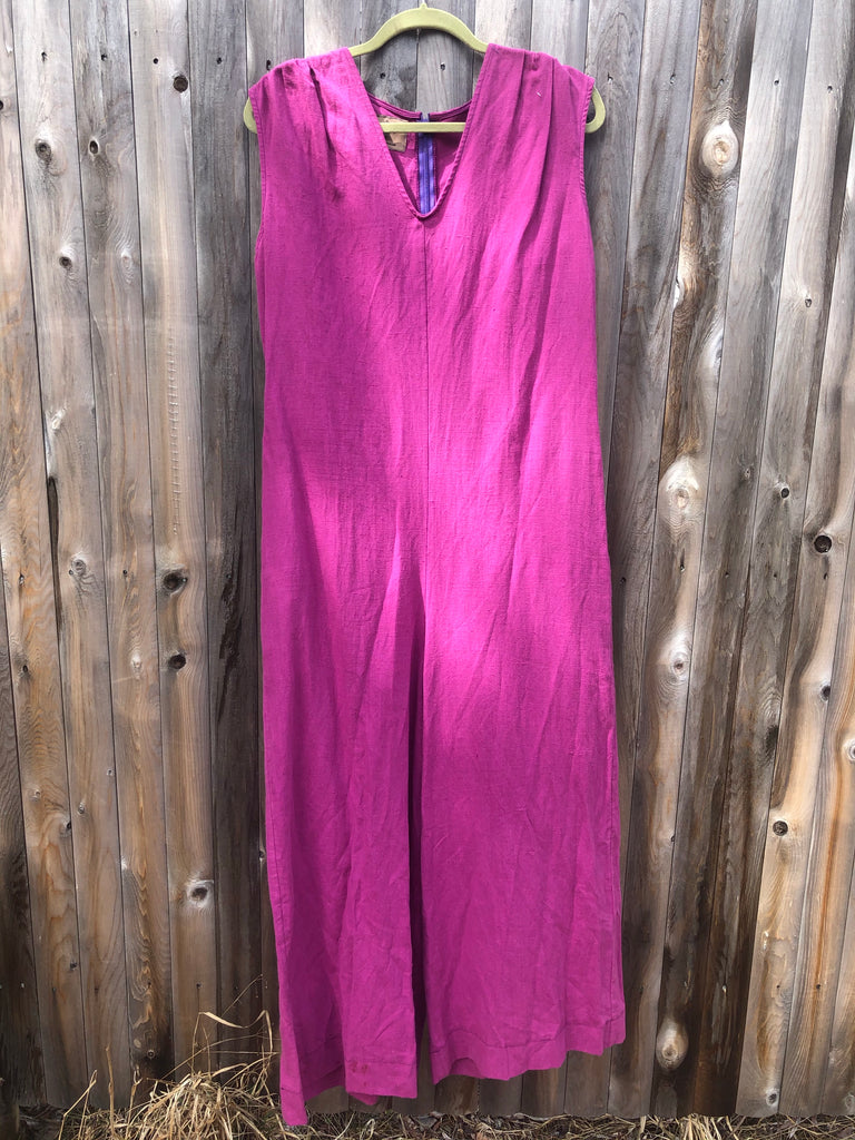 Linen Jumpsuit in PURPLE