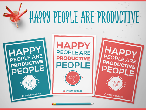 Happy People are Productive