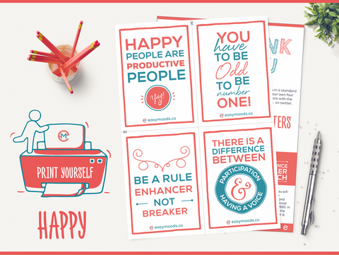 Print Yourself Happy