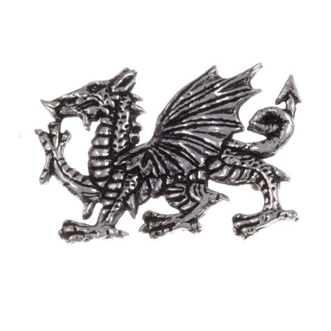 Welsh Dragon Brooch - Pewter*