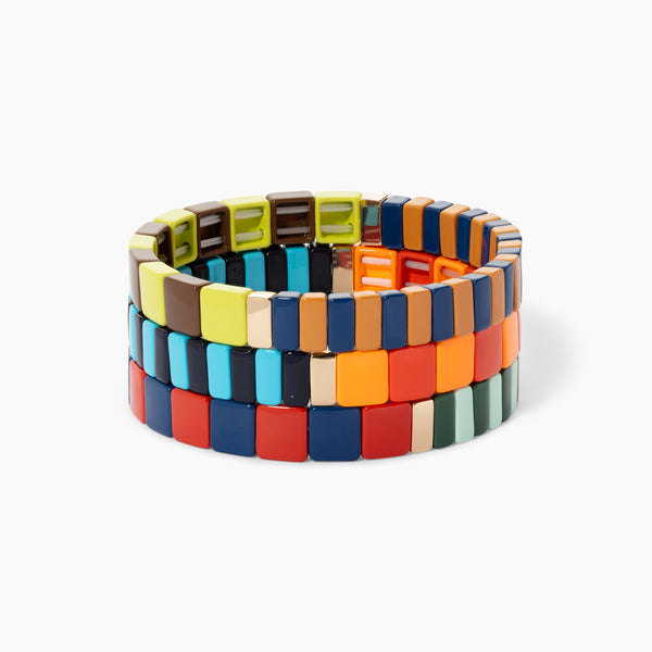Checks and Bits Bracelet