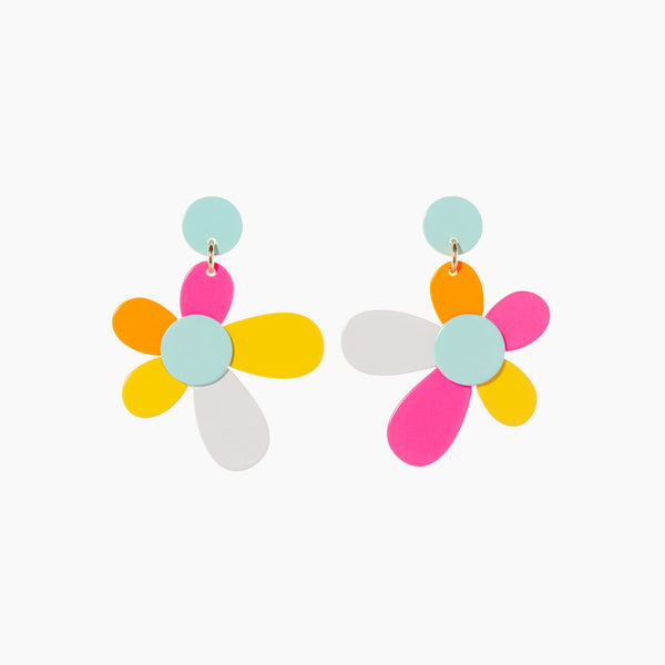 Pop Flower Earring