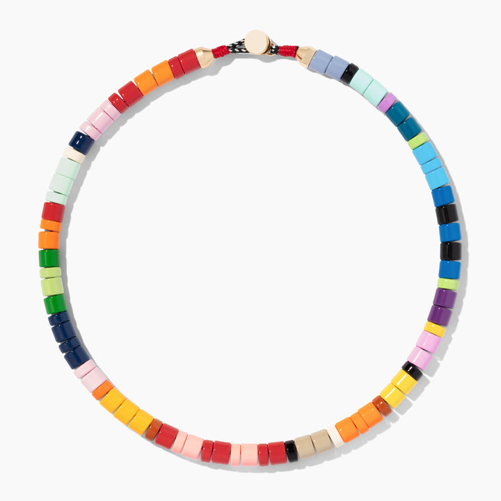 Colorblock Candy Necklace