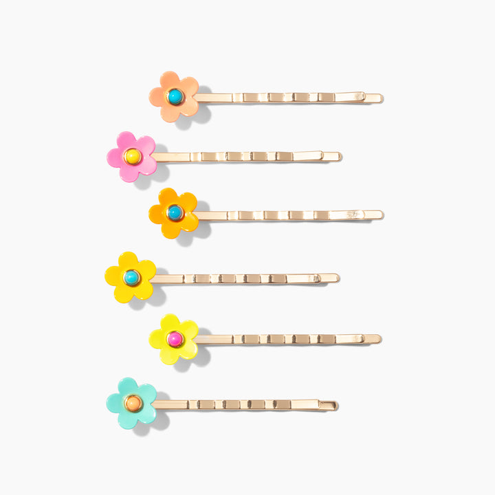 In Full Bloom Bobby Pins