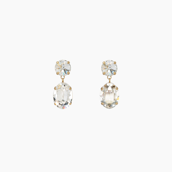 Hip-Hop but Not Baby Crystal Earrings