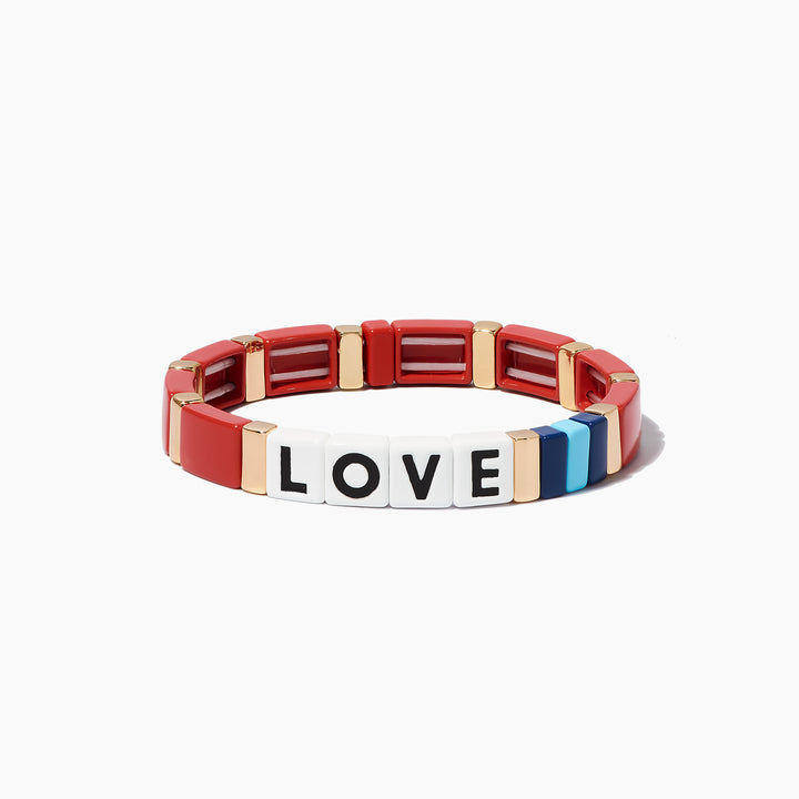 Just Say Love Bracelet