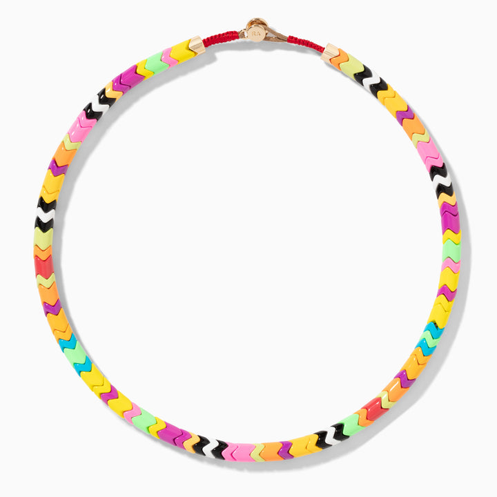 Life of the Party Wave Necklace