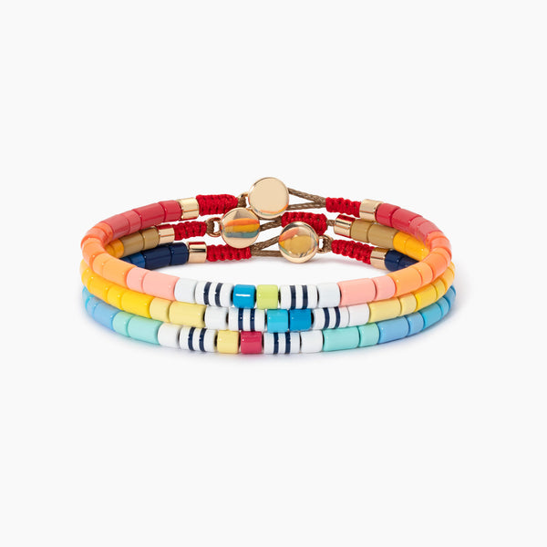 Color Therapy® Men's U-Tube Bracelets