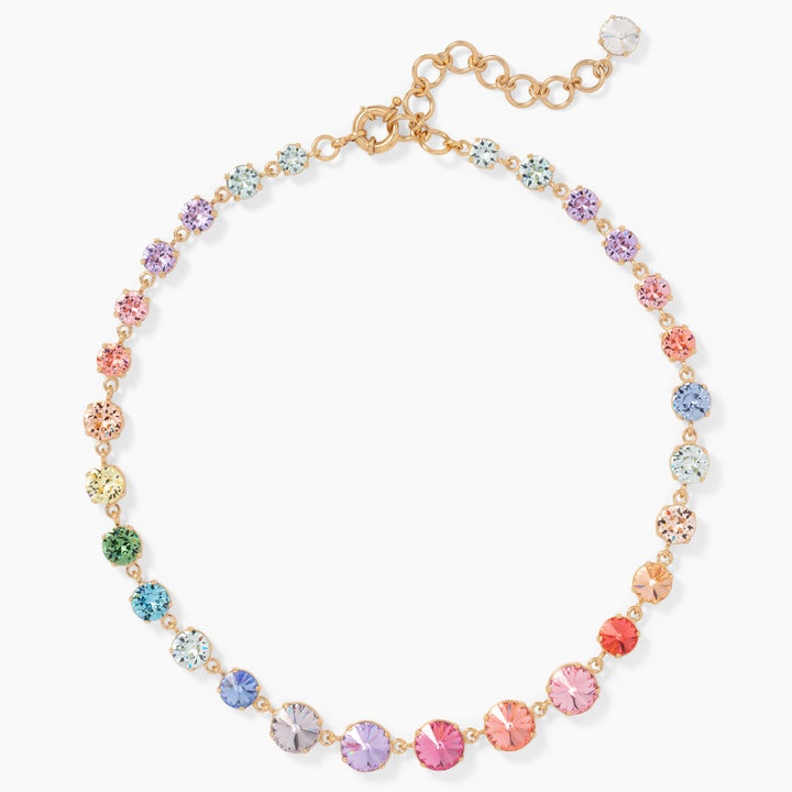 Mini Technicolor Rainbow Necklace