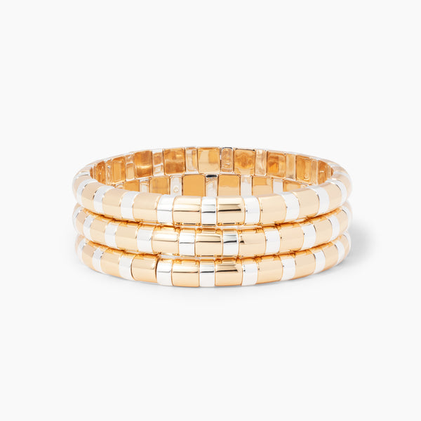 Gold Index Bracelet