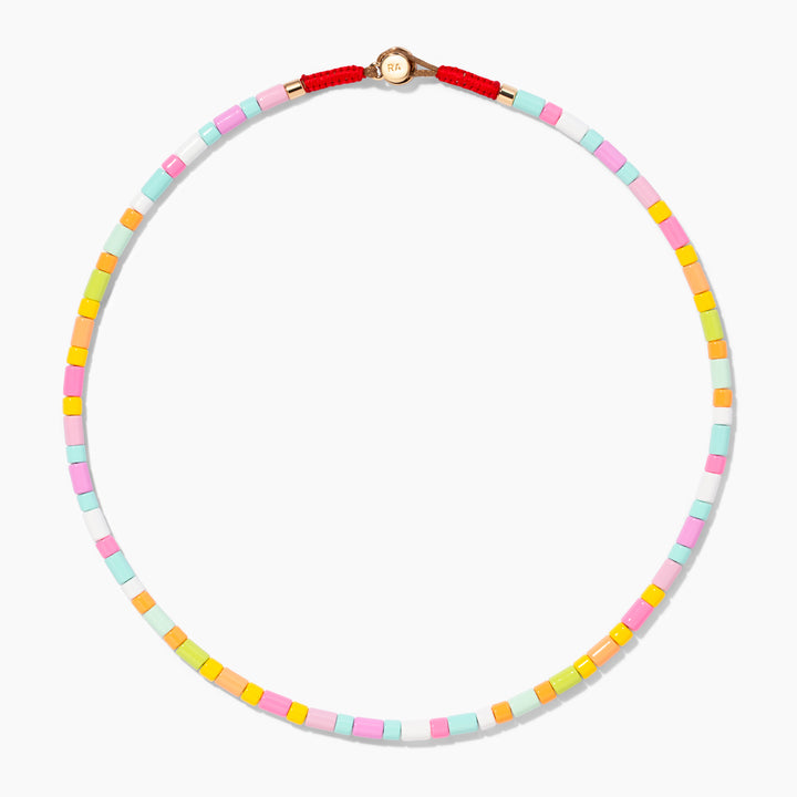 Neon Lite U-Tube Necklace