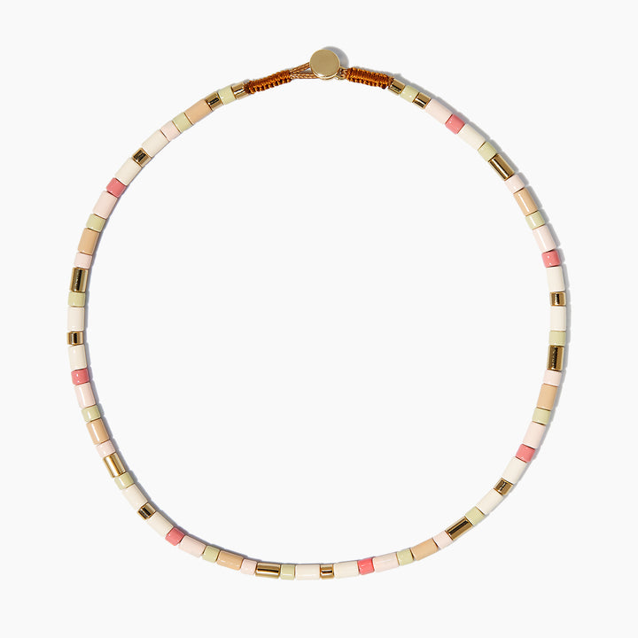 Pink Sands U-Tube Necklace
