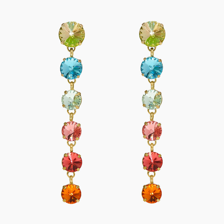Technicolor Rainbow Earrings