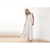 Bridesmaid Dresses - Shop Ivory or Blush Pink Backless wedding maxi dress from Style&Pose online