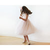 Flower Girl Dresses - Shop Pink tie straps flower girl tulle dress 5004 from Style&Pose online