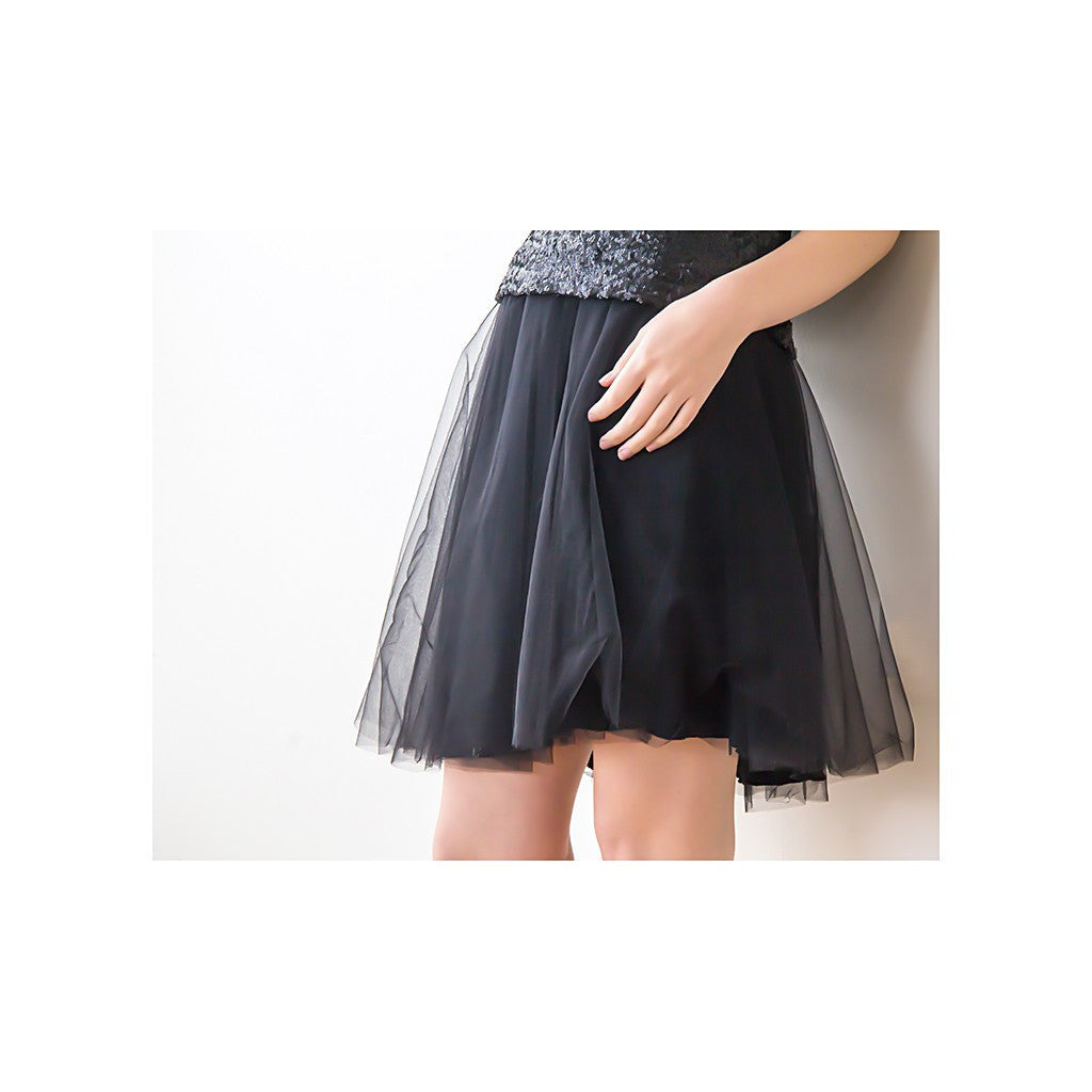 Skirts - Shop Ballerina Tulle Skirt ,Party Skirt , Silk Tulle Skirt , Black Tulle Skirt , Mini Tulle Skirt from Style&Pose online