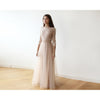 Women - Apparel - Bridal - Shop Pink Tulle and Lace Maxi Gown 1122 from Style&Pose online