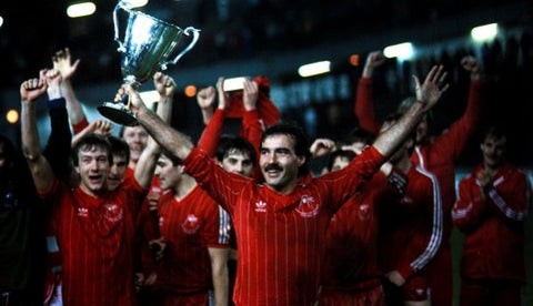 Aberdeen Celebrate the Cup Winners Cup win in 1983