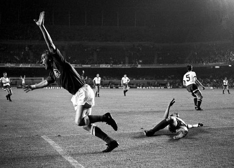 Colin Stein scores for Rangers in the 1972 Cup Winners Cup Final