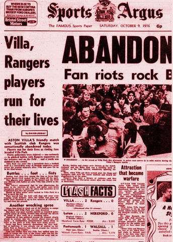 Aston Villa Rangers - Great British Terrace Fights