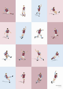 Aston Villa Legends Print
