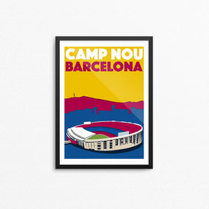 Camp Nou Stadium Print