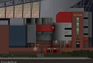 Old Trafford Stadium Art