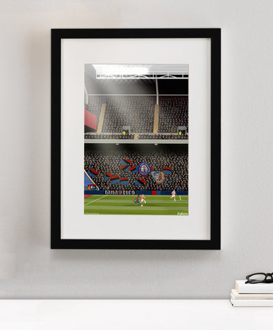 Crystal Palace Ultras Print