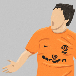 Dundee United Scottish Cup 2010 Print