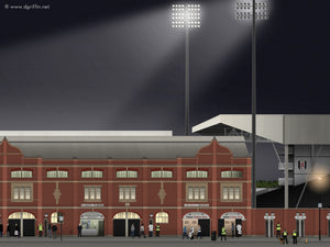 Craven Cottage Illustration