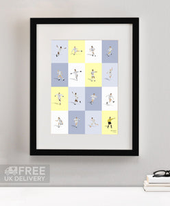 Leeds Wall Of Fame Prints