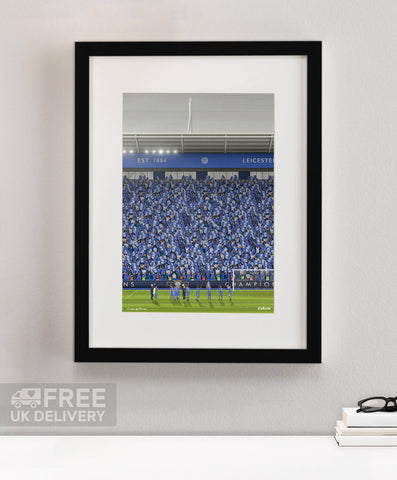 Leicester City - Champions 2015/16 Print