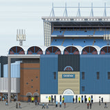 Maine Road Panoramic Print