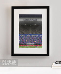 Ibrox Flags and Banners Print