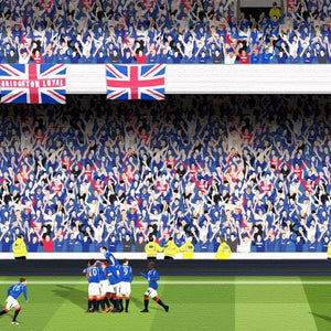 Rangers FC - 'The Blue Sea of Ibrox'