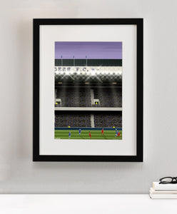 Rangers FC, Ibrox - Illustrated Print - Terrace Menswear