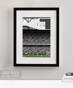 Old White Heart Lane Print Framed