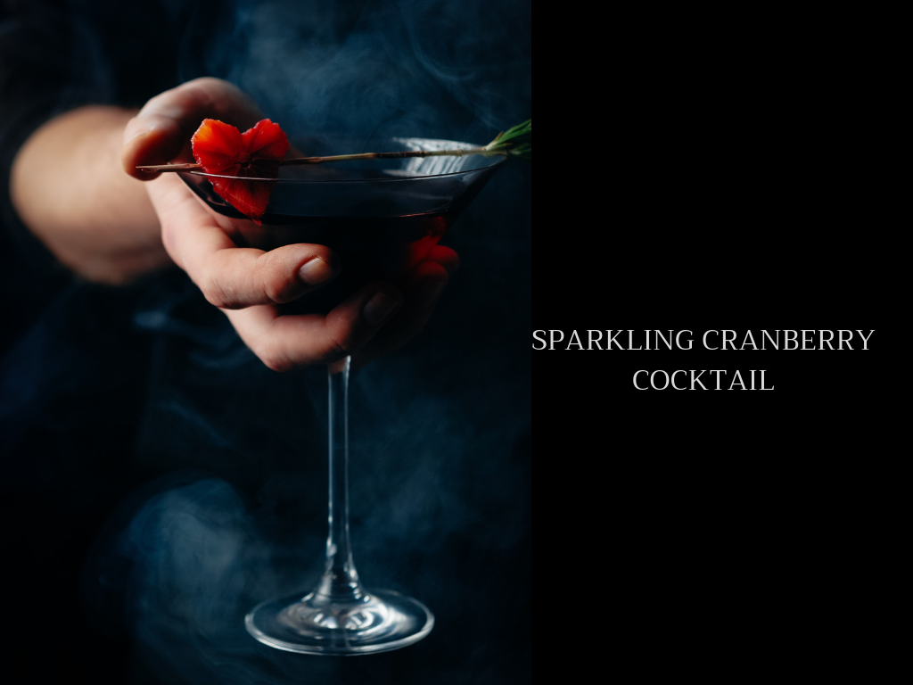 Spellbinding Sparkling Cranberry Cocktail