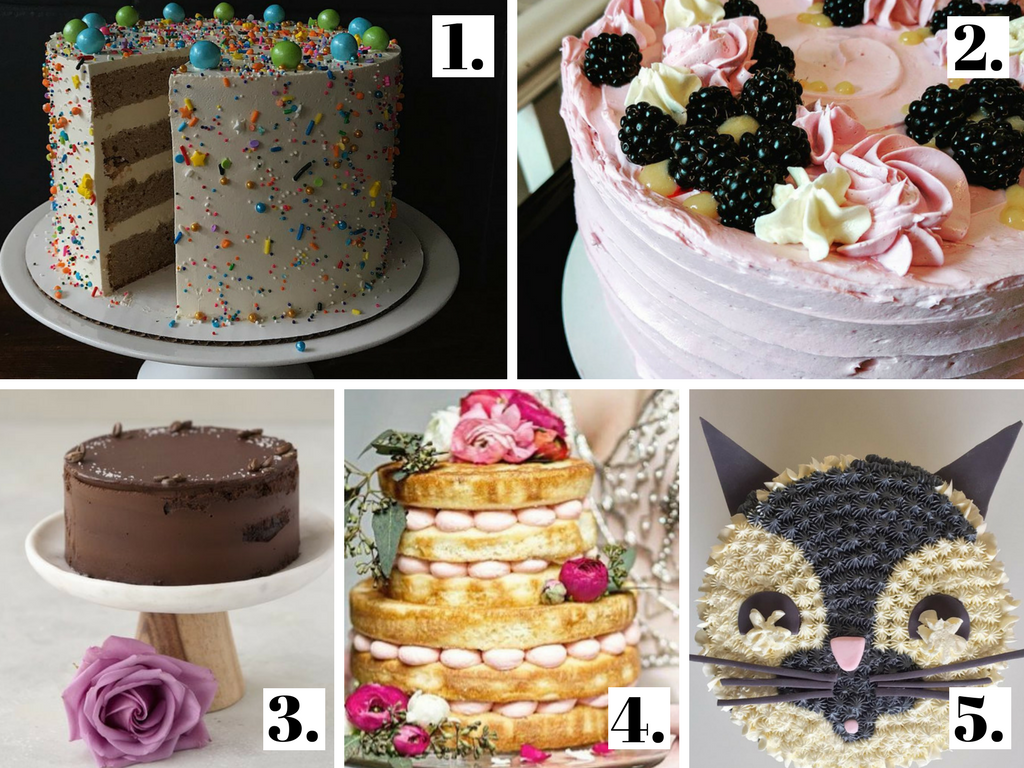 Five Beautiful Hometown Layer Cakes
